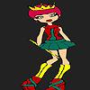 Petit nouveau Coloriage princesse jeu