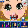 Petite fille au dentiste jeu