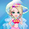 Robe de mariée sirène vers le haut jeu