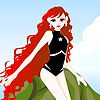 Molly mermaid dress up jeu