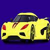Coloriage voiture moderne et rapide jeu