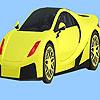 Coloriage de voiture de ville moderne jeu