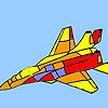 Modern war plane coloring jeu