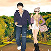 New couple on the road dress up jeu