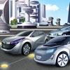 Parking de la ville de Neon jeu