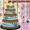 Décoration de gâteau de NY jeu