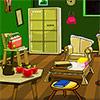 Vieille chambre verte évasion jeu