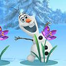 OLAF congelés masquer Seek jeu