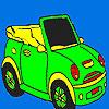 Ouvrir le coloriage voiture de sport jeu