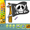 Coloriages de pirates jeu