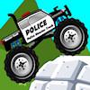 Camion de monstre de police jeu