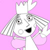 Holly de Princesse Coloriage jeu