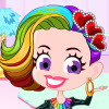 Rainbow Hairstyle jeu