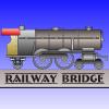 Pont ferroviaire de façon jeu