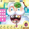 Père Noël chez dentiste jeu