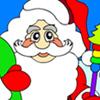Coloriage de père Noël jeu