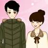 Couple de valentine Shoujo Manga habiller jeu