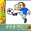 Coloriages de sports jeu