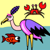 Pêche de la cigogne jeu