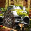 Maison de l'arbre steampunk jeu
