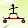 Stickman Skateboard-Bike Challenge jeu