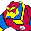 Super hero coloring jeu