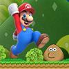 Super Mario VS Pou jeu