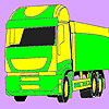 Transport car coloring jeu