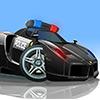 V8 Police Parking jeu
