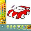 Coloriages de véhicules jeu