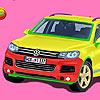 Voiture de Volkswagen touareg jeu