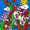 Zoo garden coloring jeu
