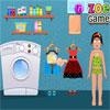 Zoe lavage vêtements jeu